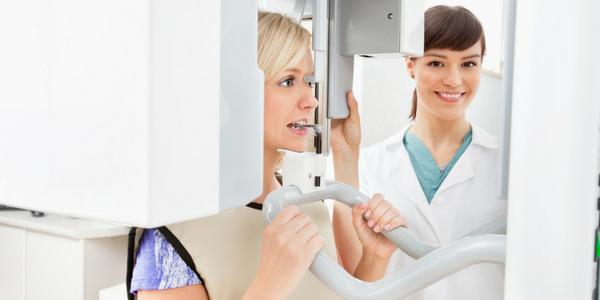 Panaramic x-rays create a full view of your teeth, jaws, and face.