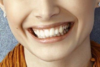 closeup smile